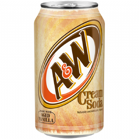 A&W Cream Soda 355ml (US)